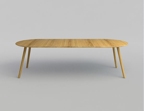 EAT dining table oval extension