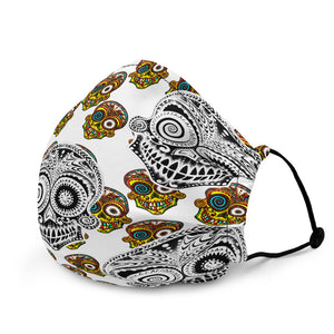 SUGAR SKULL PATTERN mask