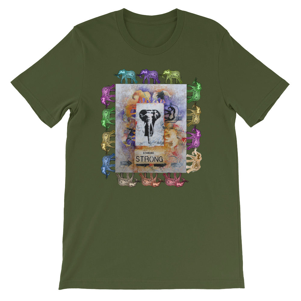 STANDING STRONG  T-Shirt - Wipaka Designs