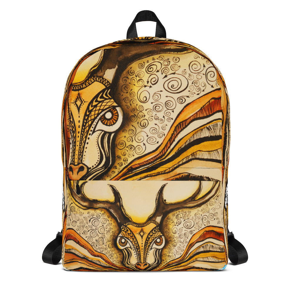 Magical Deer Backpack - Wipaka Designs