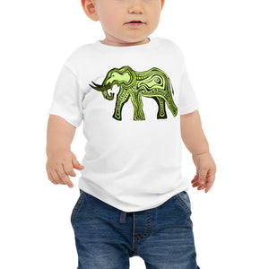 GREEN ELEPHANT Baby Tee - Wipaka Designs