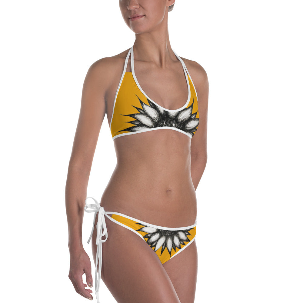 SUNFLOWER  Bikini - Wipaka Designs