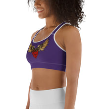 """FLYING HEART"" Sports bra - Wipaka Designs"
