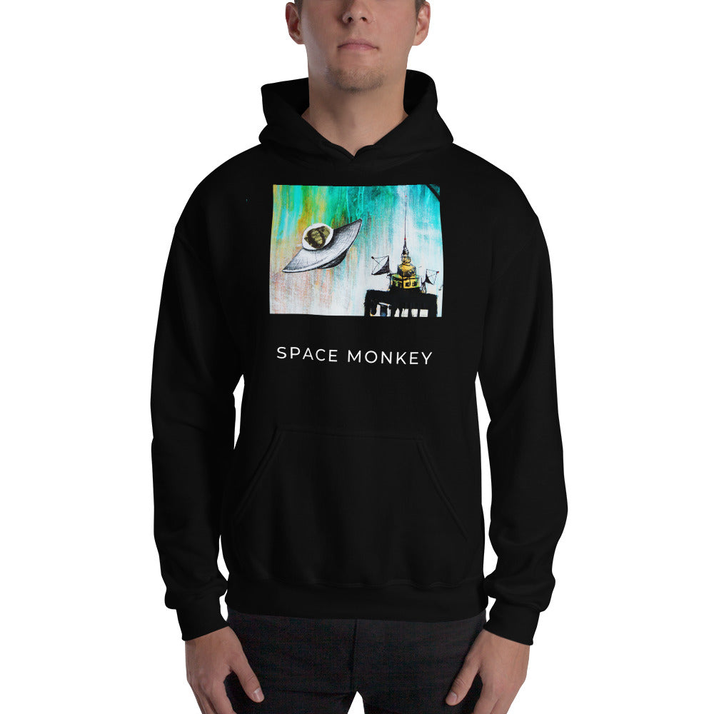 SPACE MONKEY Hoodie - Wipaka Designs