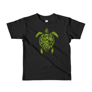 TURTLE PROTECTOR GREEN kids t-shirt - Wipaka Designs