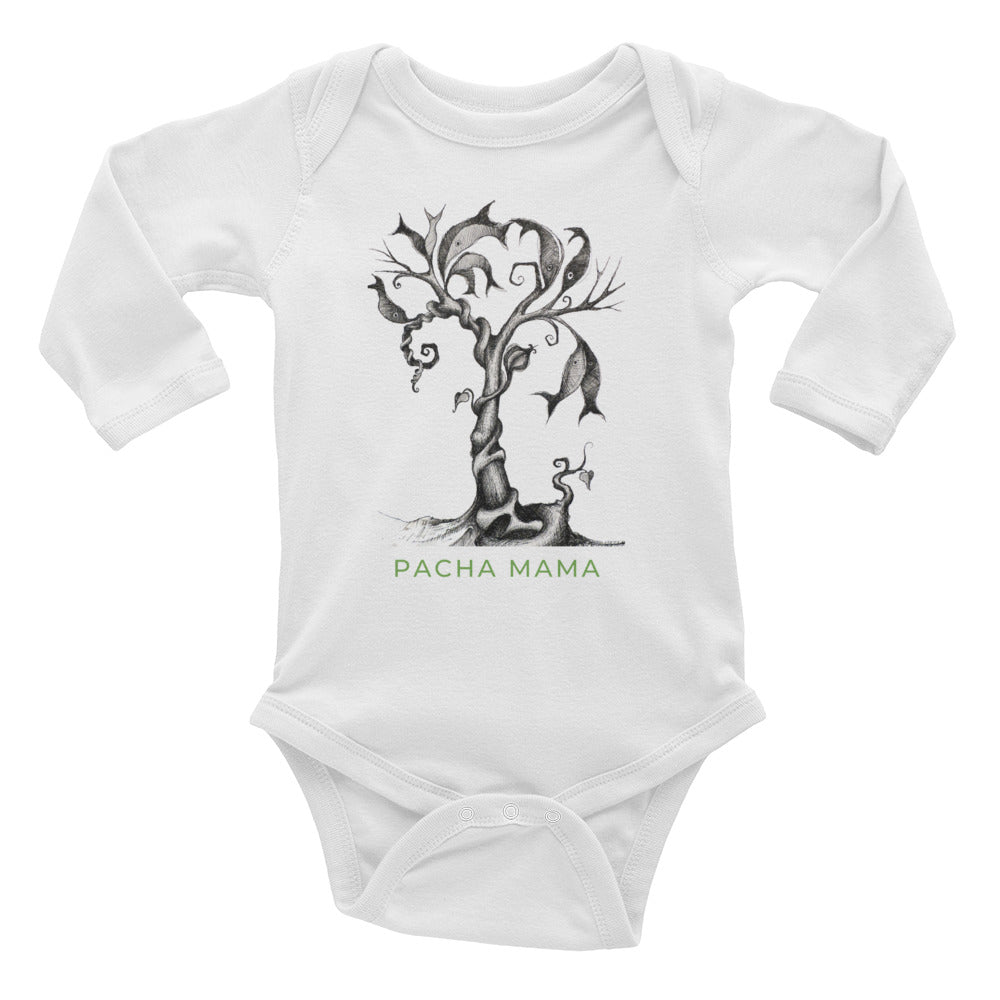 SALT WATER long sleeve Bodysuit - Wipaka Designs