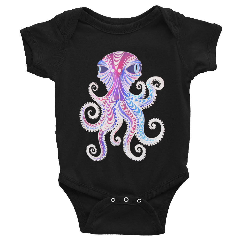 Octopus Infant Bodysuit - Wipaka Designs