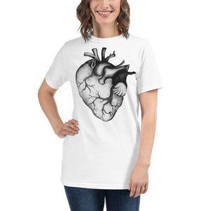 GIANT HEART INK Organic T-Shirt - Wipaka Designs