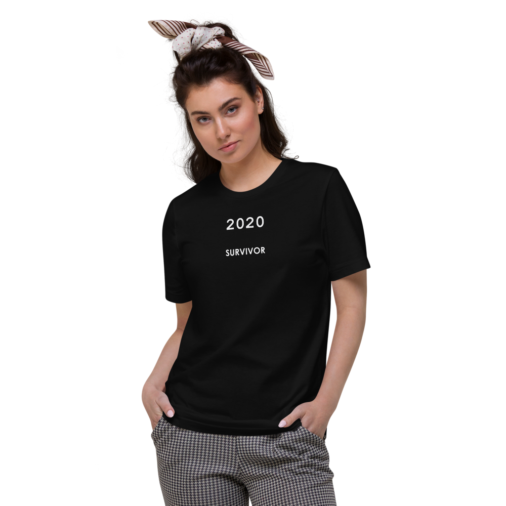 2020 SURVIVOR organic t-shirt black
