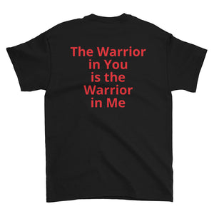 The warrior in you is the warrior in me BLACK - Wipaka Designs