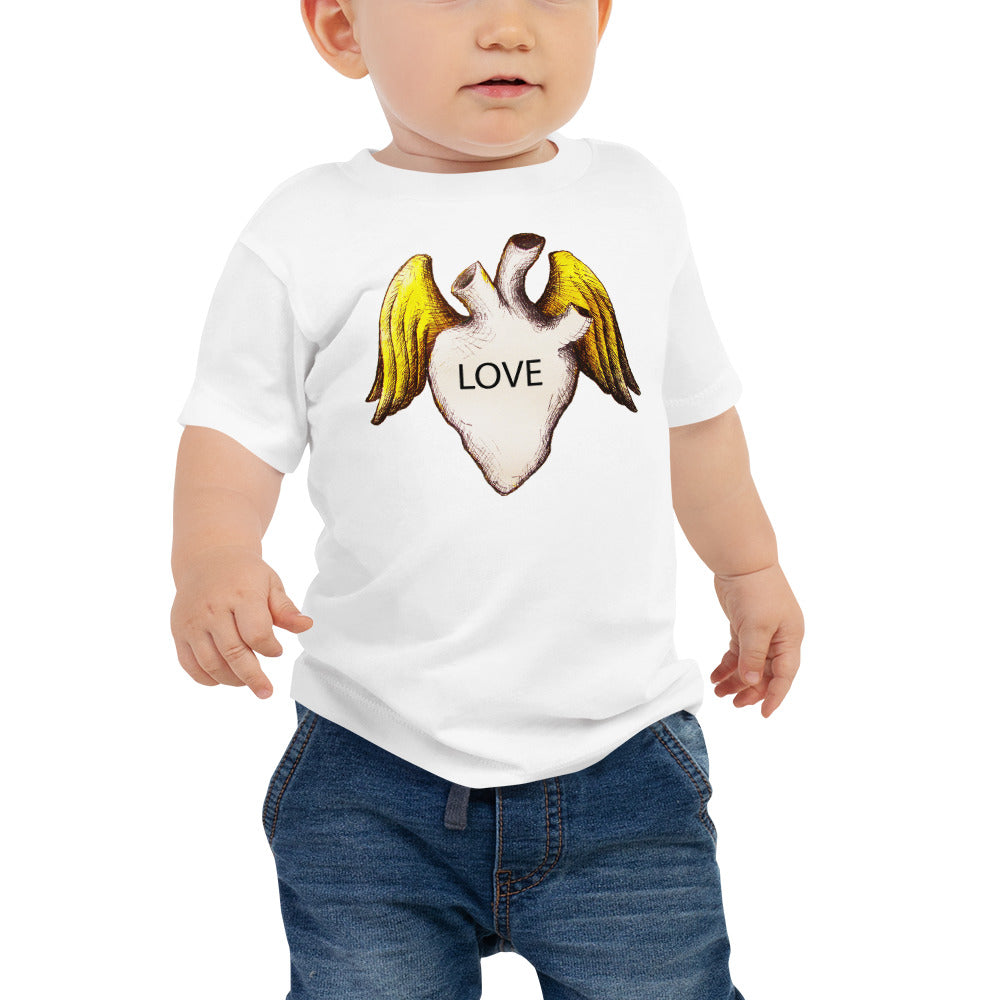 LOVE HEART Baby Tee - Wipaka Designs