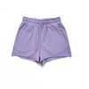 Kylie Drawstring Relaxed Short - Purple