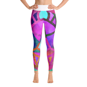 Yoga Pants - Floowood (Dry Ice)
