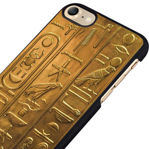Phone Case (iPhone) - Egyptian Hieroglyphics (4s 5 5s 5c SE 6 6s 7 8 plus X)