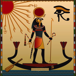 Egyptian Decoration - 3 Part Wall Art (Horus, Anubis, Khepri)