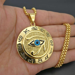 Necklace - Eye of Horus Pendants (Gold/Silver)
