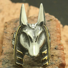 Ring - Anubis (Stainless Steel)