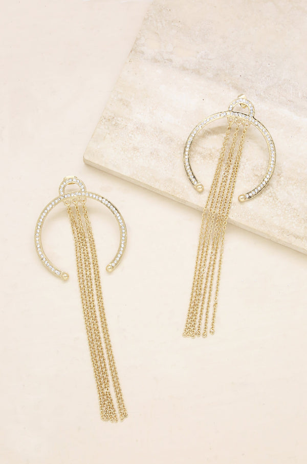 Good Karma Earrings in Gold