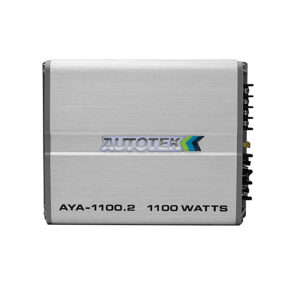 Autotek AYA-1100.2 Alloy Series 1,100-Watt 2-Channel Class AB Amp