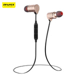 Awei AK3 Waterproof Magic Magnet Attraction Bluetooth 4.1 Headset In-Ear Sports Earphone with Microphone On-ear Control - DRE's Electronics and Fine Jewelry: Online Shopping Mall