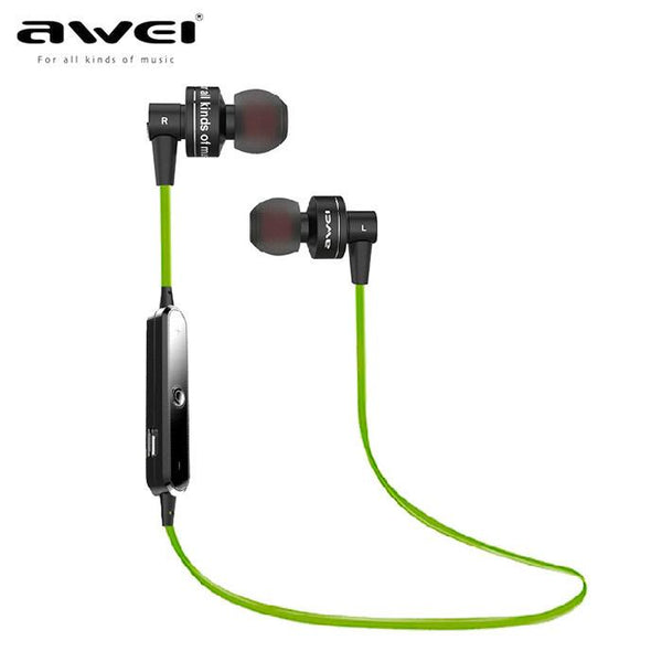 Awei A990BL Wireless Bluetooth stereo music earhud sports running earphone Handsfree headset fone de ouvido with Microphone - DRE's Electronics and Fine Jewelry: Online Shopping Mall
