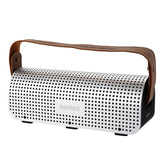 Remax H1 NFC Portble Bluetooth Speakers With Leather Straps Built-in 8800mAh Power Bank Support AUX-IN TF Card Surround Strereo
