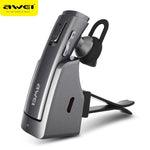 AWEI A833BL Bluetooth Headset Wireless Stereo Headphone Headset - DRE's Electronics and Fine Jewelry: Online Shopping Mall