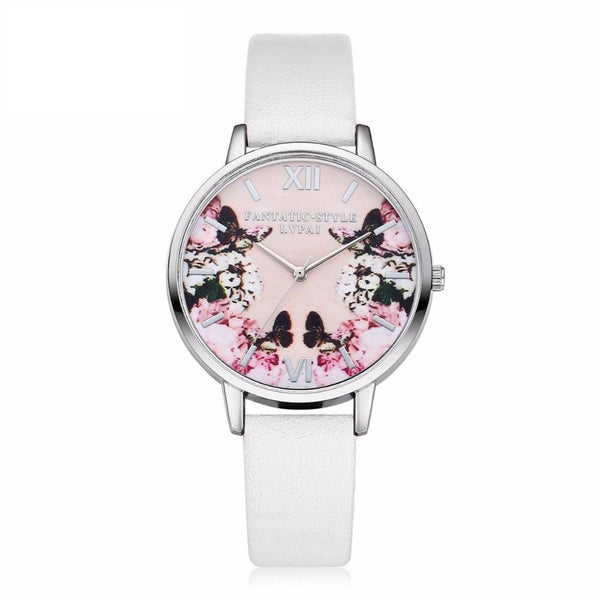 Flower Butterfly Ladies Bracelet Watch - DRE's Electronics and Fine Jewelry: Online Shopping Mall