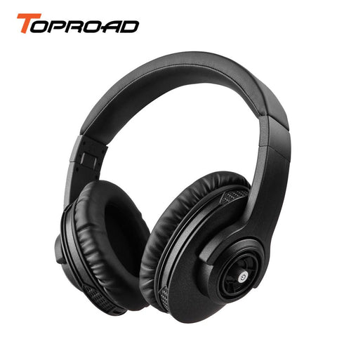 TOPROAD Bluetooth Headphone Wireless Foldable Stereo Earphones Auriculares Noise Cancelling Headset Bass Sound With Mic - DRE's Electronics and Fine Jewelry: Online Shopping Mall