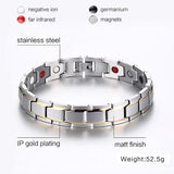 Vnox Trendy Magnet Bracelet Bangle for Women Men