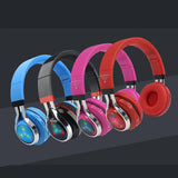 STN-18 Glowing Wireless Bluetooth Headphone Portable Headset Stereo Heavy Bass Earbuds LED Mic TF FM - DRE's Electronics and Fine Jewelry: Online Shopping Mall