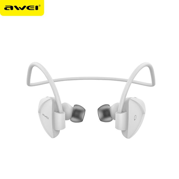 AWEI A840BL Sweatproof Wireless Bluetooth Earphone Sport Stereo Music Headphones With Mic Handsfree Headsets Auriculares - DRE's Electronics and Fine Jewelry: Online Shopping Mall