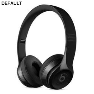 Beats by Dr. Dre Solo3 Bluetooth Wireless Foldable On-Ear Stereo Headphones w/Detachable 3.5mm Cable & Case (Black) - B