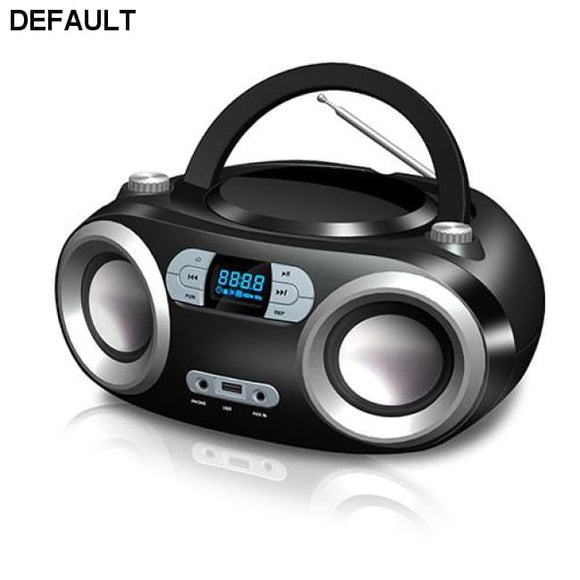 Bluetooth CD/MP3 Boombox Black - DRE's Electronics and Fine Jewelry: Online Shopping Mall