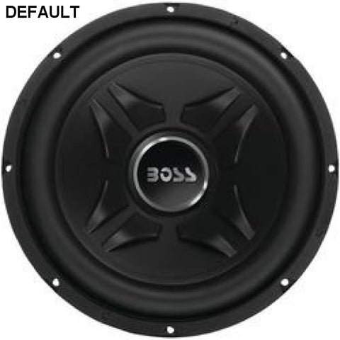 "Boss Audio Chaos Exxtreme Series Single Voice-coil Subwoofer (12"", 1,000 Watts) - DRE's Electronics and Fine Jewelry: Online Shopping Mall"