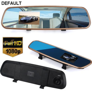 Car HD 3.2'' 1080P Rearview Mirror Dash Camera DVR Cam Video Recorder G-sensor - DRE's Electronics and Fine Jewelry: Online Shopping Mall