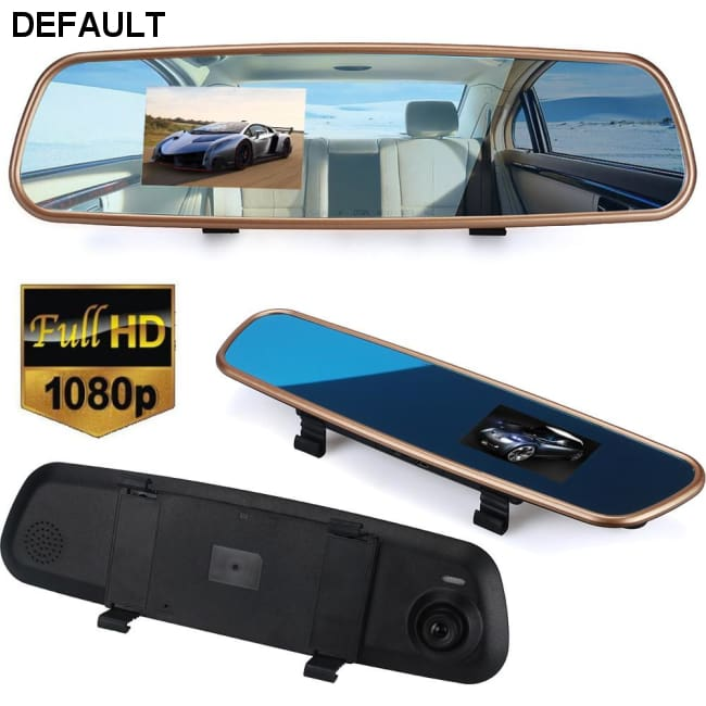 Car HD 3.2 1080P Rearview Mirror Dash Camera DVR Cam Video Recorder G-sensor