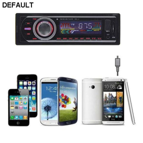 Car Radio Stereo In-Dash MP3 Music Player FM USB SD AUX Input Receiver - DRE's Electronics and Fine Jewelry: Online Shopping Mall