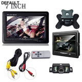 Car Rearview monitor rearview backup camera system 7 TFT LCD Screen Nightvision - DRE's Electronics and Fine Jewelry: Online Shopping Mall