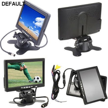 Car Rearview monitor rearview backup camera system 7 TFT LCD Screen Nightvision