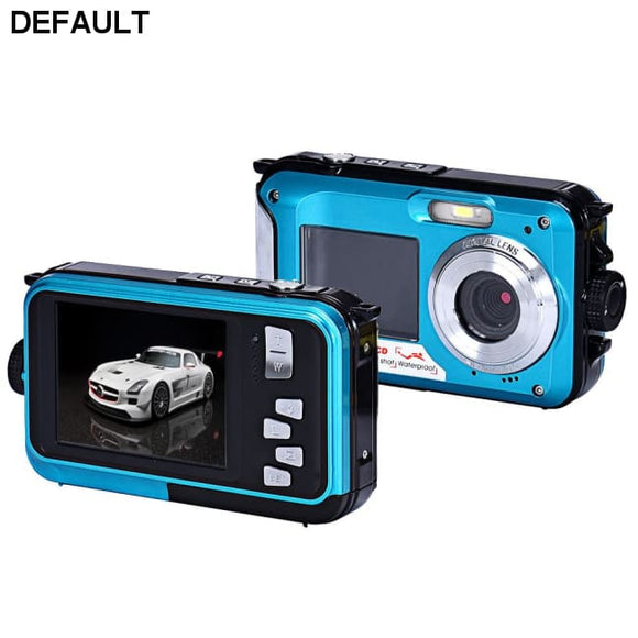 Double Screen Waterproof Camera 24MP 16x Digital Zoom Dive Camera - DRE's Electronics and Fine Jewelry: Online Shopping Mall