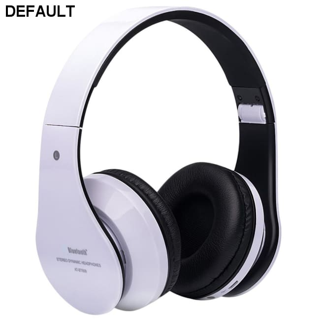 Foldable Wireless Bluetooth Stereo Headset Hands-free Headphone Mic TF Card A