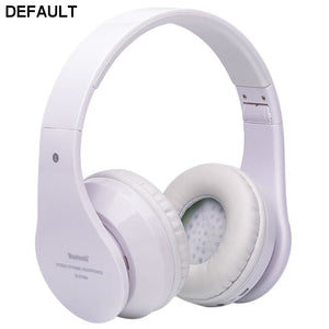 Foldable Wireless Bluetooth Stereo Headset Hands-free Headphone Mic TF Card B