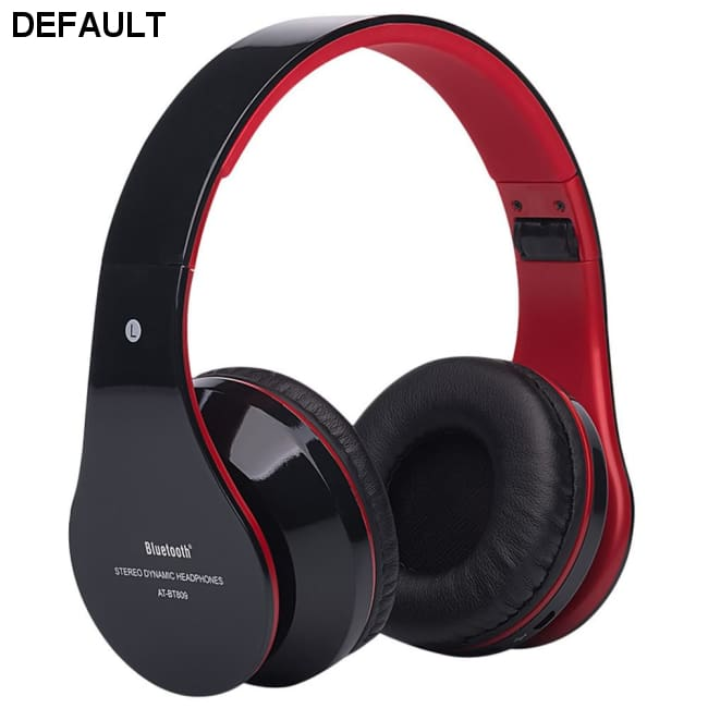 Foldable Wireless Bluetooth Stereo Headset Hands-free Headphone Mic TF Card D