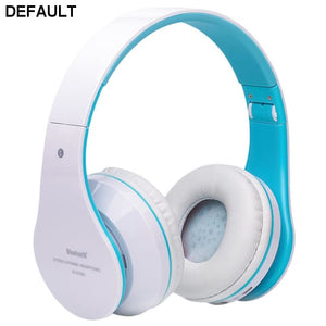 Foldable Wireless Bluetooth Stereo Headset Hands-free Headphone Mic TF Card E