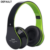 Foldable Wireless Bluetooth Stereo Headset Hands-free Headphone Mic TF Card F