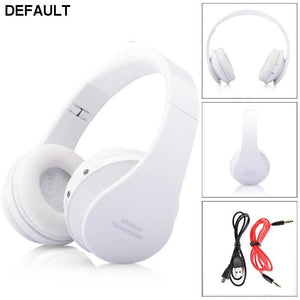 Foldable Wireless Bluetooth Stereo Headset Handsfree Headphones Mic