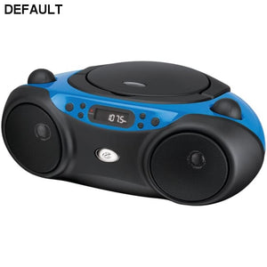 GPX(R) BC232BU Sporty CD & Radio Boom Box (Blue) - DRE's Electronics and Fine Jewelry: Online Shopping Mall