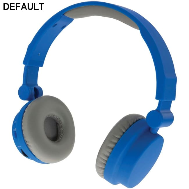 iLive iAHBT45BU Wireless Touch Headphones with Microphone (Blue)
