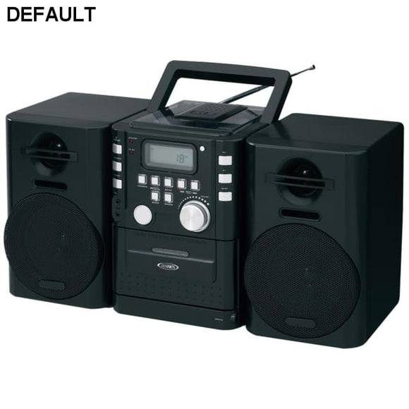 JENSEN(R) CD-725 Portable CD Music System with Cassette & FM Stereo Radio - DRE's Electronics and Fine Jewelry: Online Shopping Mall